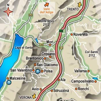 Alberghi malcesine vallagarina e monte baldo hotel for Trento informazioni turistiche