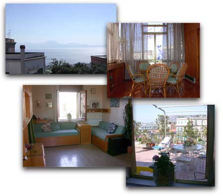 Bed and breakfast<br> stelle in Napoli - Bed and breakfast<br> Dolcesonno Napoli Via Morgan
