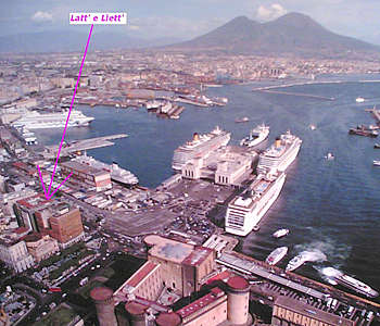 Bed and breakfast<br> stelle in Napoli - Bed and breakfast<br> Latt' e Liett'